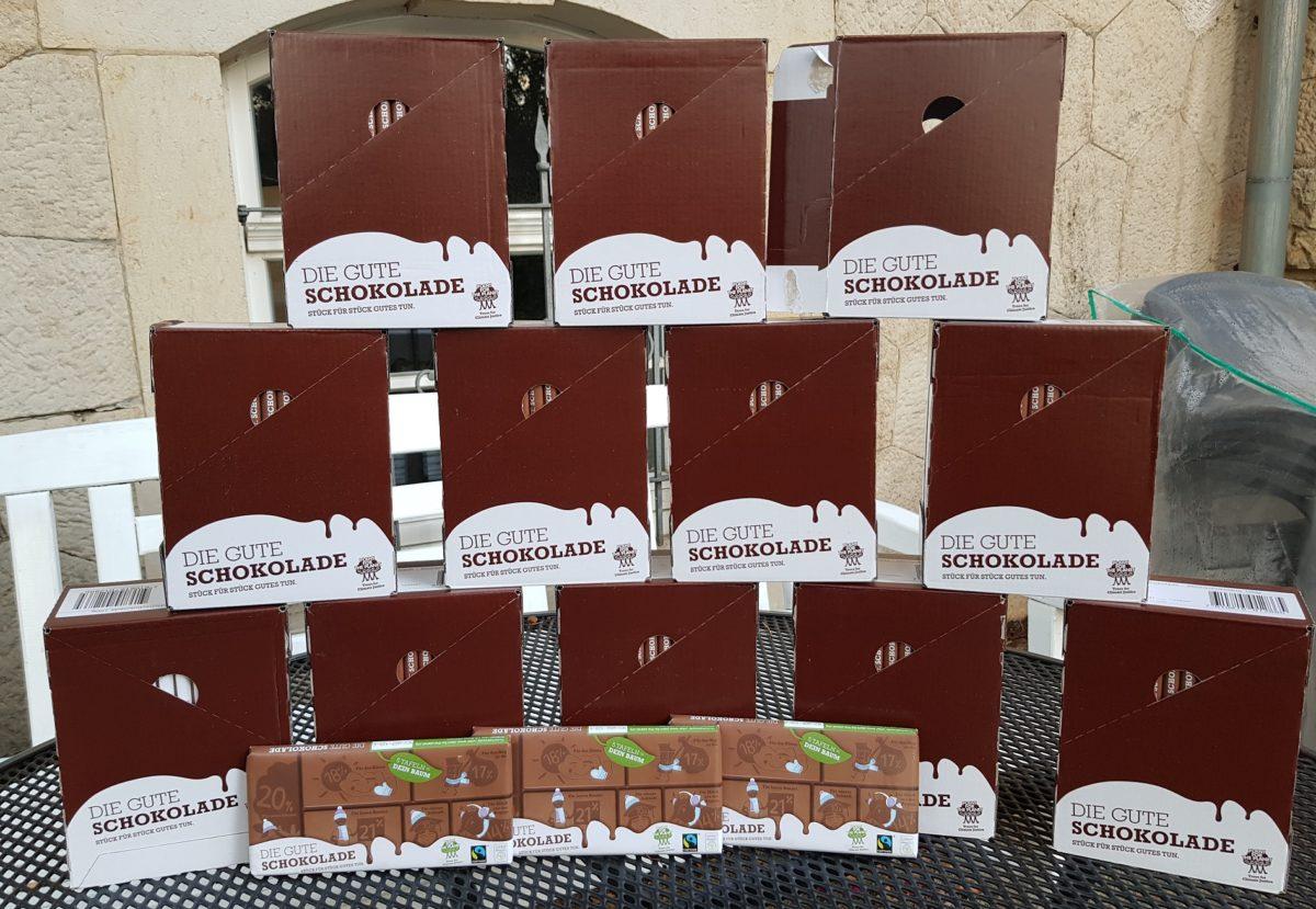 Schokolade – in Massen
