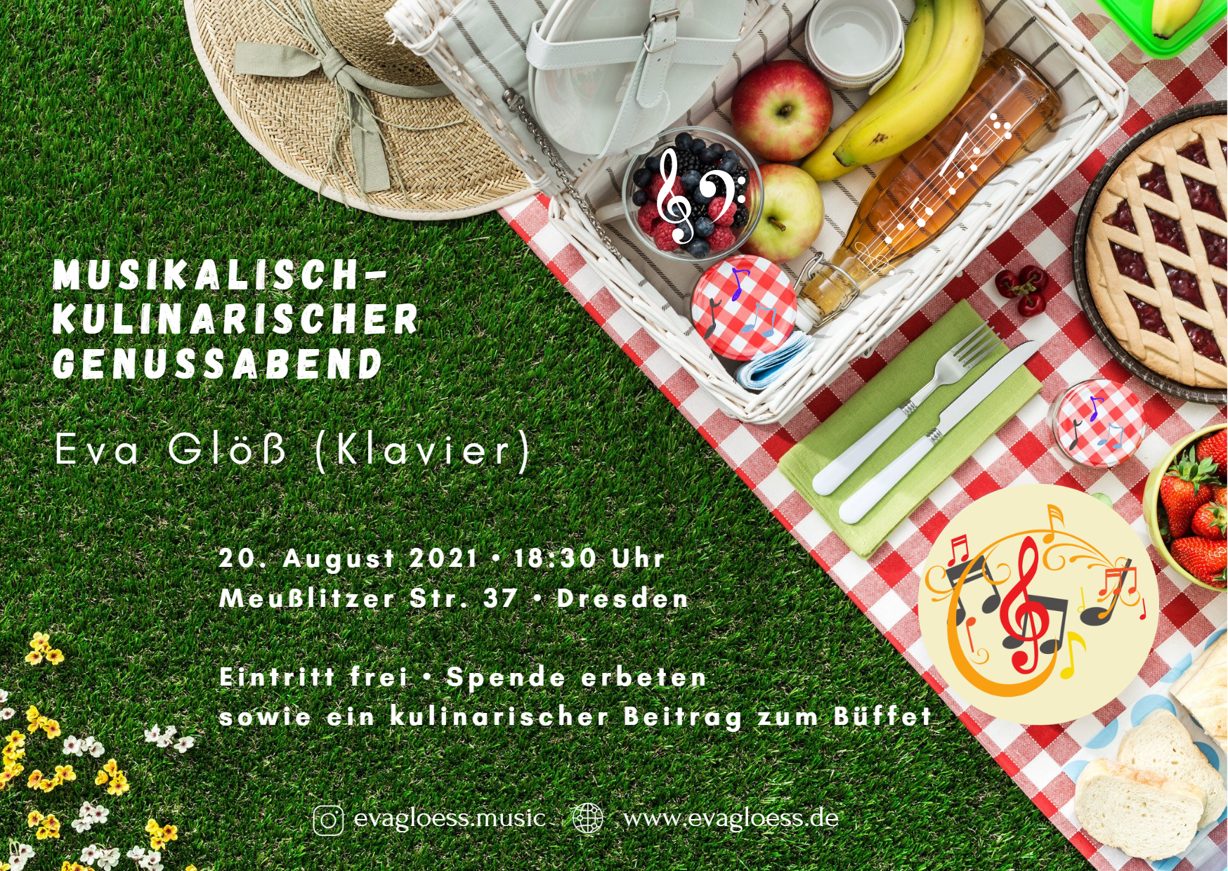 Read more about the article Musik und Buffet am 20.08.
